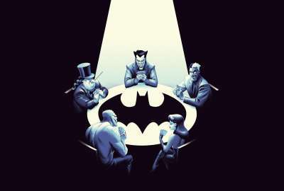 Edited of the Batman: The Animated Series Posters  wallpaper