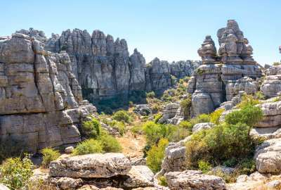 El Torcal Natural Park wallpaper