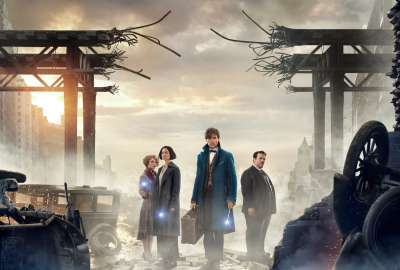 Fantastic Beasts and Where to Find Them 4K 2016 wallpaper