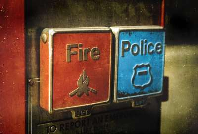 Fire Police Buttons wallpaper