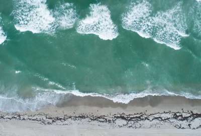 Florida Beach From Above wallpaper