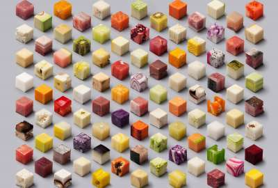 Food Cubes wallpaper