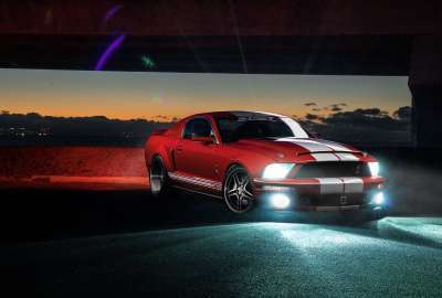 Ford Mustang Shelby GT 4K wallpaper