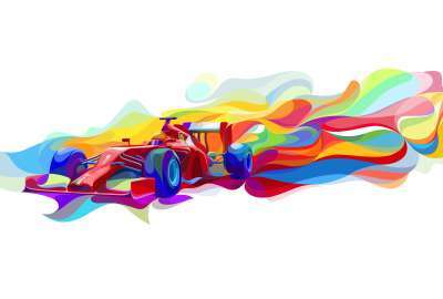Formula Ferrari 5K wallpaper