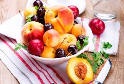 Fruit Basket Presentation wallpaper