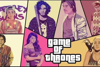 Game of Thrones GTA Style wallpaper