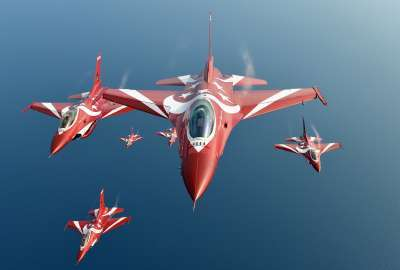 General Dynamics F Fighting Falcon Jet Fighter wallpaper