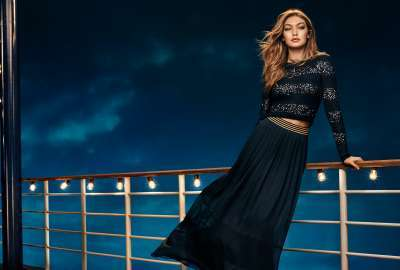 Gigi Hadid Tommy Hilfiger Collection 4K wallpaper