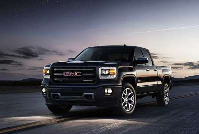 GMC Car in the Night wallpaper