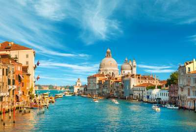Grand Canal Venice Italy 4K wallpaper