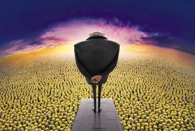 Gru And The Minions wallpaper