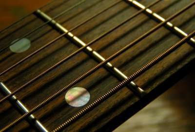 Guitar Closeup 1771 wallpaper