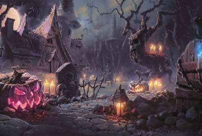 Halloween by UnidColor wallpaper
