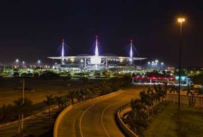 Hard Rock Stadium Don Shula Drive Miami Gardens Florida USA wallpaper