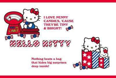 Hello Kitty Charm Lite HD wallpaper
