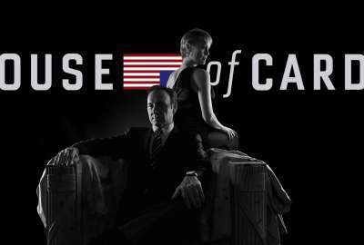 House of Cards - Black and White wallpaper