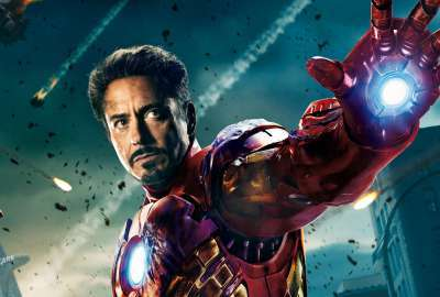 Iron Man In Avengers Movie Wide wallpaper