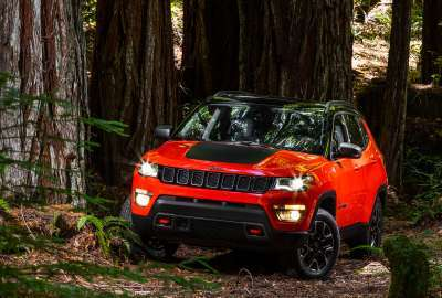 Jeep Compass Trailhawk 2017 wallpaper