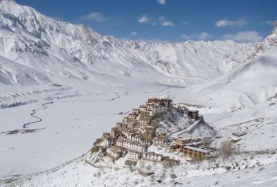 Key Monastery Spiti Valley India wallpaper