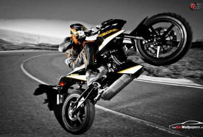Ktm Duke Wheelie wallpaper