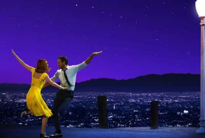 La La Land Ryan Gosling Emma Stone 4K wallpaper