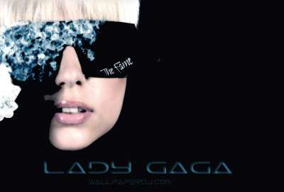 Lady Gaga The Fame Album Cover wallpaper