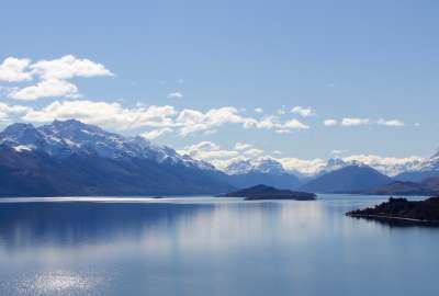 Lake Wakatipu New Zealand wallpaper