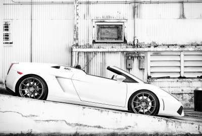 Lamborghini Gallardo Spyder ADV Wheels wallpaper