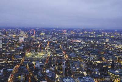 London at Dusk wallpaper