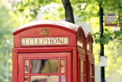 London Telephone wallpaper