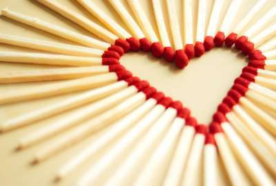 Love Matchsticks wallpaper