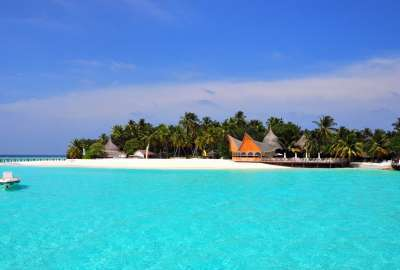 Maldives Tropical Beach Island wallpaper