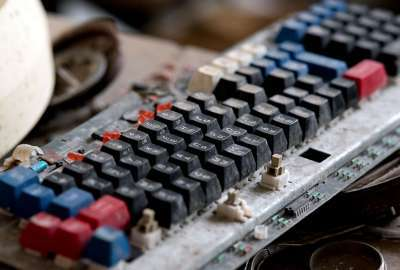 Mechanical Keyboard From Chernobyl wallpaper