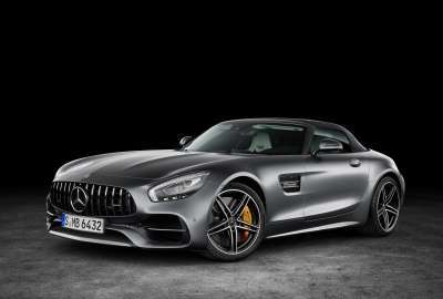 Mercedes AMG GT C Roadster 4K wallpaper