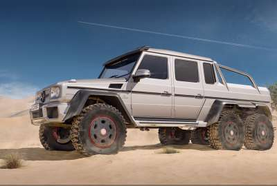 Mercedes Benz G AMG 4K wallpaper