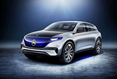 Mercedes Benz Generation EQ SUV Concept 4K wallpaper