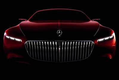 Mercedes Maybach Coupe 5K wallpaper