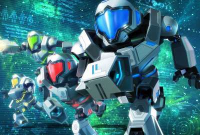 Metroid Prime Federation Force Nintendo 3DS wallpaper