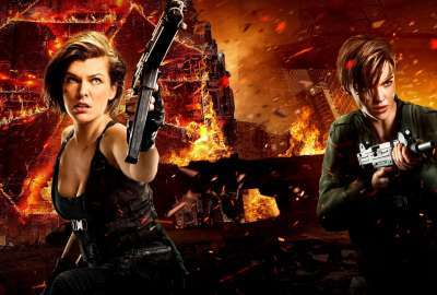 Milla Jovovich Ruby Rose Resident Evil The Final Chapter wallpaper