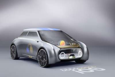Mini Vision Next Concept Car 4K wallpaper