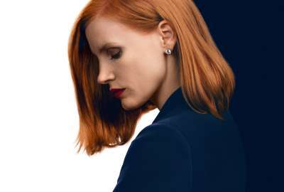 Miss Sloane Jessica Chastain 4K wallpaper