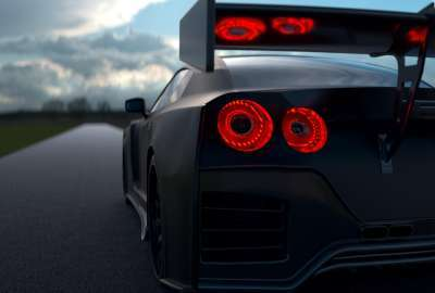 Modded Nissan GTR wallpaper