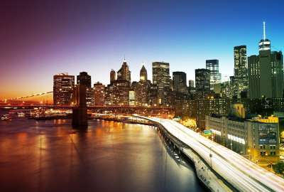 New York City Manhattan Bridge wallpaper