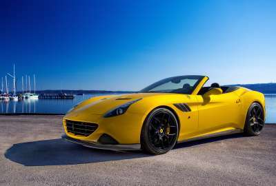Novitec Rosso Ferrari California T wallpaper