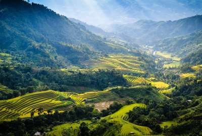 Ha Giang Province Near the Chinese Border wallpaper