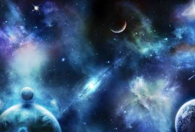 outer space wallpaper 400x270 MM 100