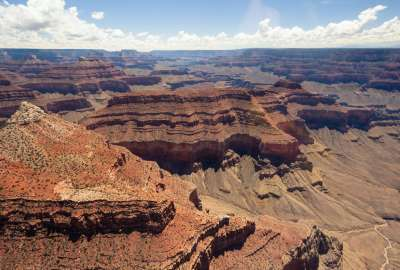 Over the Grand Canyon wallpaper