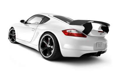 Porsche GT White wallpaper