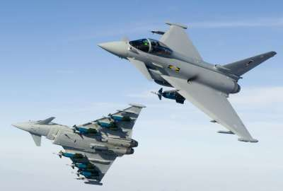 RAF No Squadron Typhoon wallpaper