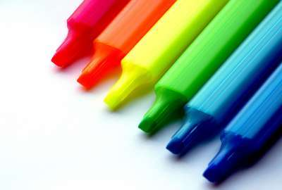 Rainbow Pencils wallpaper